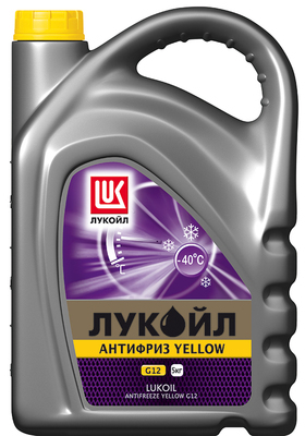 ЛУКОЙЛ АНТИФРИЗ G12 Yellow